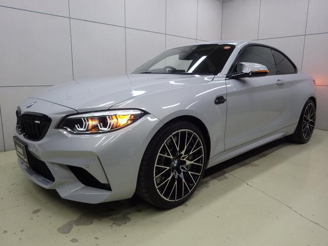 BMW M2 コンペティション クルーズコントロール ブラックレザーシート 19インチアロイホイール 正規認定中古車