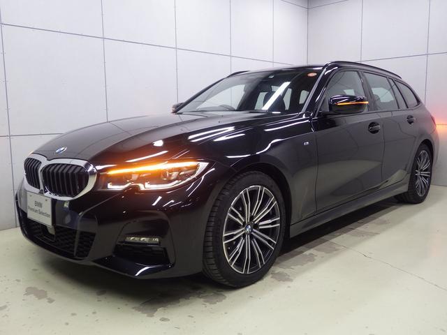 BMW 3シリーズ 318iツーリング Mスポーツ Mスポーツ ブラックサファイア アクティブクルーズコントロール HDDナビゲーション Bluetooth バックカメラ 電動シート 電動トランク LEDヘッドライト ハイビームアシスト ETC2.0