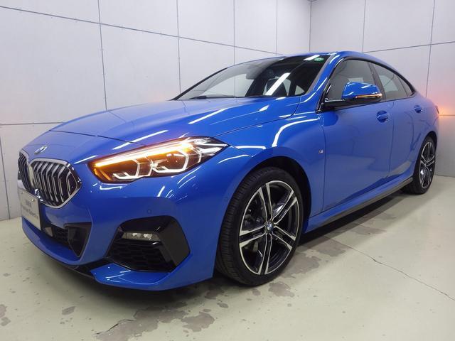 BMW 218dグランクーペ Mスポーツエディションジョイ+ Mスポーツ ミサノブルー アクティブクルーズコントロール ナビパッケージ HDDナビゲーション 電動シート バックカメラ Bluetooth LEDヘッドライト ETC2.0