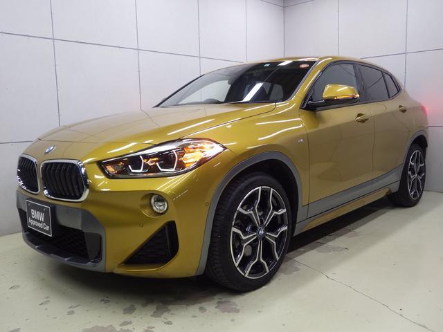 BMW X2 xDrive 18d MスポーツX Mスポーツ コンフォートパッケージ 電動トランク シートヒーター HDDナビゲーション バックカメラ Bluetooth LEDヘッドライト ETC2.0 正規認定中古車