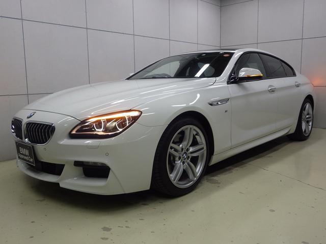 BMW 640iグランクーペ Mスポーツ Mスポーツ ブラックレザー サンルーフ ヘッドアップディスプレイ アクティブクルーズコントロール LEDヘッドライト HDDナビゲーション バックカメラ Bluetooth ETC2.0