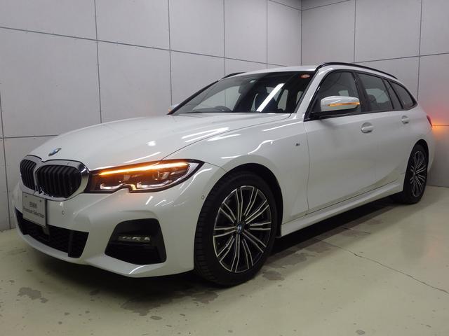 3シリーズ(BMW) 320d xDriveツーリングMスポツEDジョイ+ Mスポーツ コンフォートパッケージ パーキングアシストプラス ストレージパッケージ アクティブクルーズコントロール LEDヘッドライト HDDナビゲーション 電動シート シートヒーター 電動トランク 中古車画像