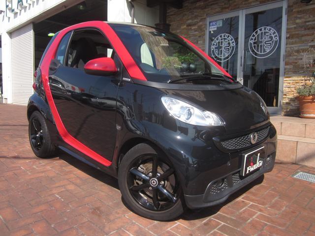 スマート ターボ エディション シャープレッド 150台限定車