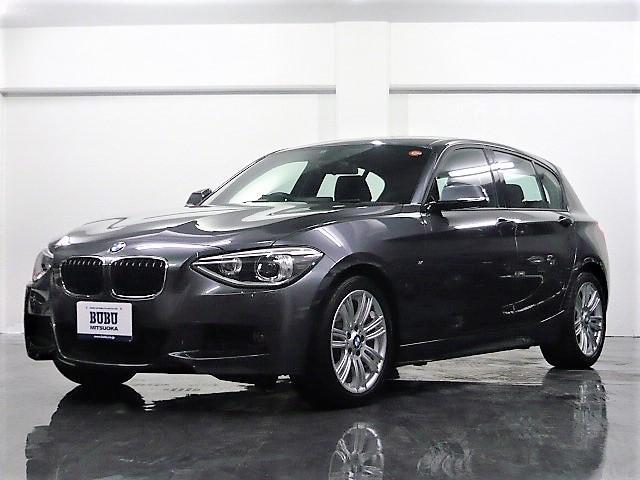 BMW 116i Mスポーツ 1オーナー 純正ナビ SOSコール