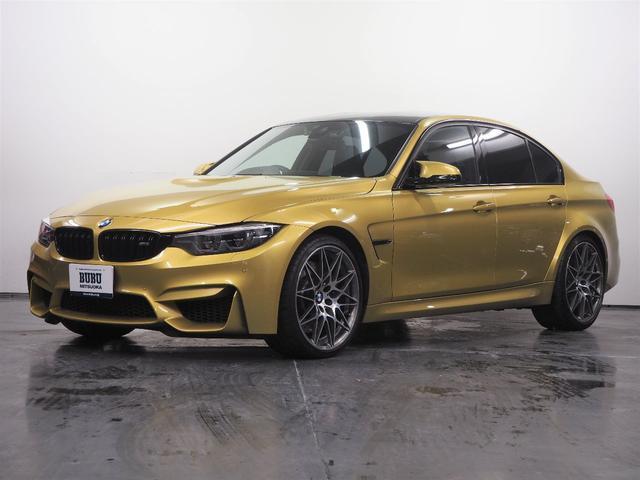 BMW M3セダン コンペティション 1オーナー 鍛造20AW