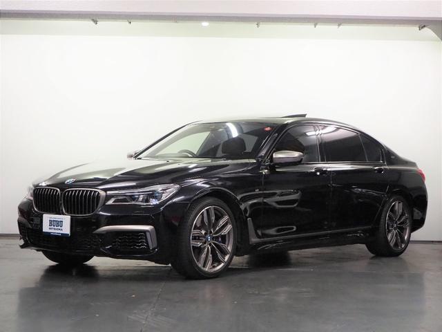BMW M760Li xDrive 正規D車 純正ナビTV ACC LCW ナイトビジョン 茶革 全席シートヒーター/ベンチレーション/マッサージ Bower&Wilkins BMWレーザーHL 20AW スカイラウンジパノラマSR