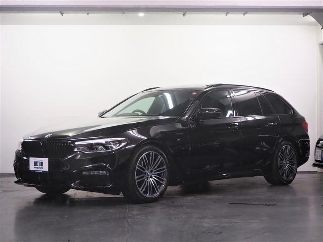 BMW 530iツーリング Mスポーツ 正規D車 黒革シート シートヒーター 純正HDDナビ 地デジTV Bカメラ ミラーETC2.0 PDC ACC Dアシスト パドルシフト コンフォートアクセス Mスポ19インチAW LEDヘッドライト