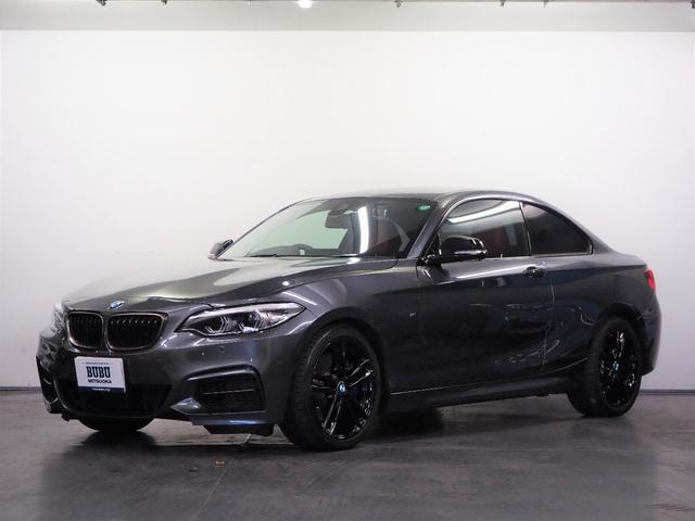 BMW M240iクーペ レッドレザーシート シートヒーター 純正HDDナビゲーション Bluetooth接続 リアビューカメラ PDC ミラーETC2.0 ACC ドライビングアシスト パドルシフト コンフォートアクセス