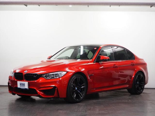 BMW M3 1オーナー harmanKardonサウンド アダプティブMサスペンション オプション19インチアルミホイール ブラックレザーシート メモリー機能パワーシート シートヒーター 純正HDDナビゲーション