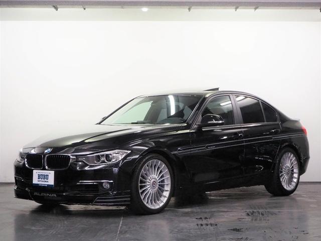 BMWアルピナ ビターボ リムジン ニコルディーラー車 ガラスサンルーフ ブラックレザーシート シートヒーター 純正HDDナビ 地デジTV アルピナクラシック19インチアルミホイール アルピナホワイトデコライン リアスポイラー
