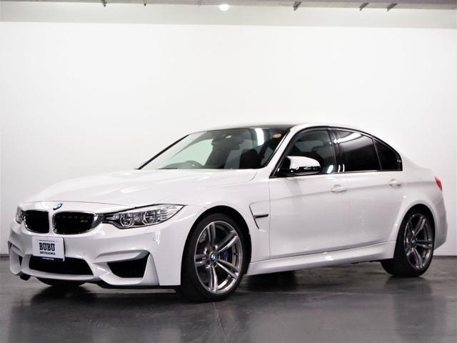 BMW M3 M3 1オーナー ブラックレザーシート メモリー機能パワーシート シートヒーター 純正HDDナビゲーション 地デジTV バックカメラ 前後PDC ドライビングアシスト へッドアップディスプレイ パドルシフト