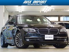 BMW750i後期型アイボリー革SR コンフォート ACC HUD