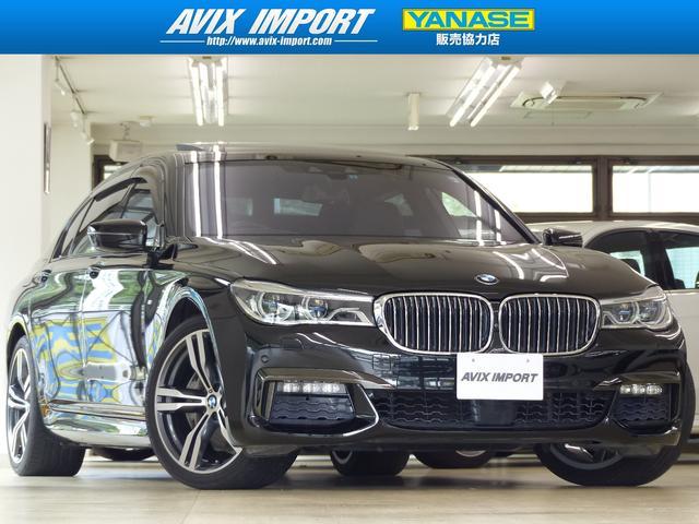BMW 740LiMスポーツ 黒革SRリヤエンタメ20AW禁煙1オナ