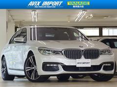 BMW740i Mスポーツ 茶革SR 20AW HUD ACC禁煙