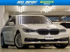 BMW750i 黒革SR HUD レーザーライト 1オナ 新車保証