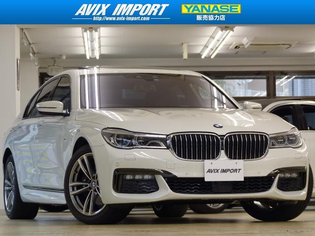 BMW 740i Mスポーツ 黒革 SR HUD ACC 禁煙1オナ