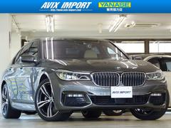 BMW740iMスポーツ白革SR20AW3DビューHUD禁煙1オナ