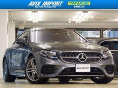 M・ベンツE200クーペ スポーツ レザーP黒本革SR 1オナ新車保証