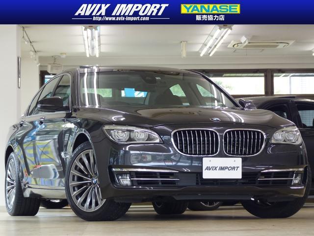 BMW アクティブハイブリッド7 後期型 コンフォートP 黒革 SR HDDナビ地デジ TOPビューカメラ LEDライト ACC ヘッドアップD 鍛造19AW 自動トランク ベンチレーション 右H フロントコンフォートシート