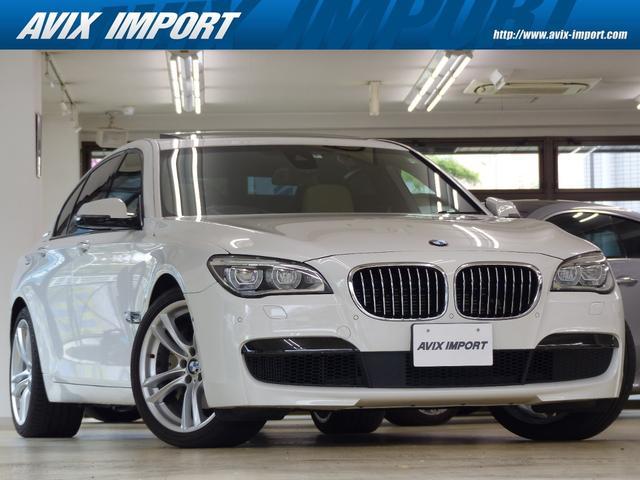 BMW 7シリーズ アクティブハイブリッド7 Mスポーツパッケージ 後期型 ベージュ革 SR HDDナビ地デジS&Bカメラ TOPビューカメラ ヘッドアップD ACC LEDライト レーンディパーチャー 全席Sヒーター 4ゾーンAC ソフトクローズドア OP20AW