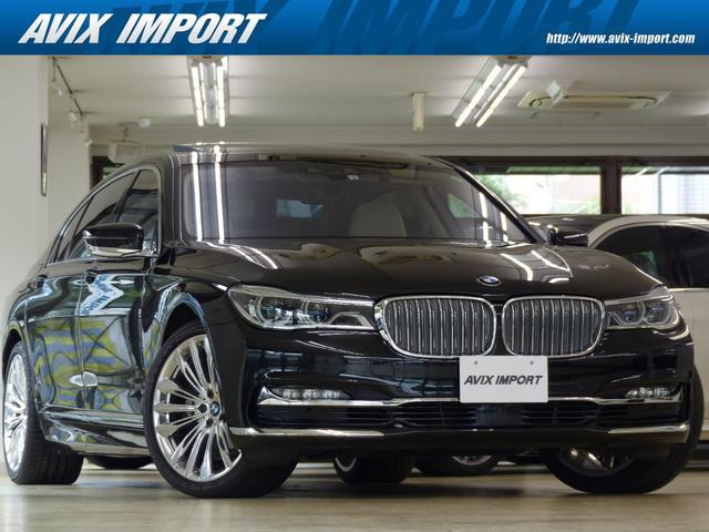 BMW 740Li DピュアエクセレンスP RコンフォートPプラス 白革 SラウンジパノラマSR レーザーライト HDDナビ地デジTOP&3Dビュー Rエンタ 全席マッサージS Dアシストプラス 自動トランク 1オナ
