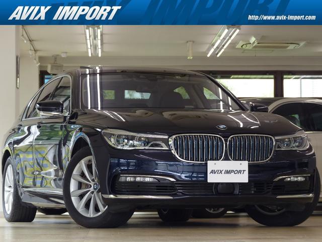 BMW 740eアイパフォーマンス エクゼクティブ 黒革 SR Dアシストプラス BMWレーザーライト HDDナビ地デジTOP&3Dビューカメラ ハーマンカードン HUD ACC 自動トランク 全席シートヒーター 前席ベンチレーション 18AW