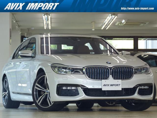 BMW 740eアイパフォーマンス Mスポーツ RコンフォートP 茶革 SR HDDナビ地デジTOP&3Dビュー BMWレーザーライト Rエンタメ ハーマンカードン 全席Sヒーター&クーラー Dアシストプラス HUD 自動トランク 20AW 禁煙