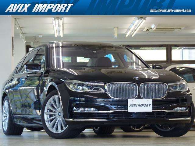 BMW 7シリーズ 750Li DピュアエクセレンスP RコンフォートPプラス 黒革 SラウンジパノラマSR HDDナビ地デジTOP&3Dビューカメラ BMWレーザーライト リヤエンタ 前後席マッサージS 自動トランク 禁煙