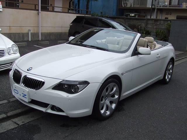 BMW 650iカブリオレ ベ-ジュ本革 HDDナビ PDC