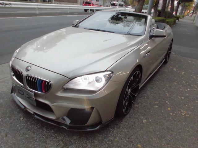 BMW 640iカブリオレ WALDコンプリートカー フルエアロ