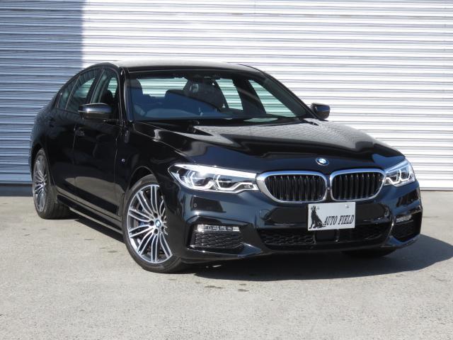 BMW 5シリーズ 540i xDrive Mスポーツ 4WD ワンオーナー コンフォートアクセス 360°カメラ バックカメラ 純正ナビTV インテリジェントセーフティ アクティブクルーズ パークディスタンス ミラーETC 前後席シートヒーター 記録簿