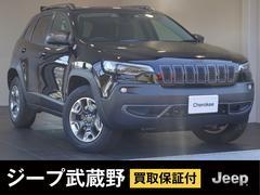 ジープ・チェロキーナビ バックカメラ LEDヘッドライト 新車保証継承