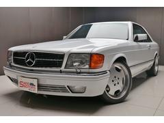 M・ベンツ560SEC 1989年モデルD車サンルーフ品川2桁ナンバー