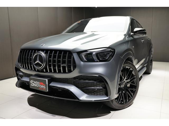 メルセデスAMG GLE53 4マチック+ クーペ 2021年モデル 正規ディーラー車 LHD AMGカーボンインテリア パノラマルーフ 社外22インチAW 純正21インチAW有