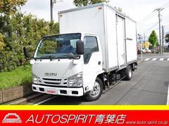エルフトラック日本フルハ−フ製アルミバン パワ−ゲ−ト付 積載2.85t