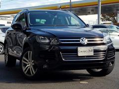 VW トゥアレグブルーモーションテクノロジーレザーシートPKG20AW'12