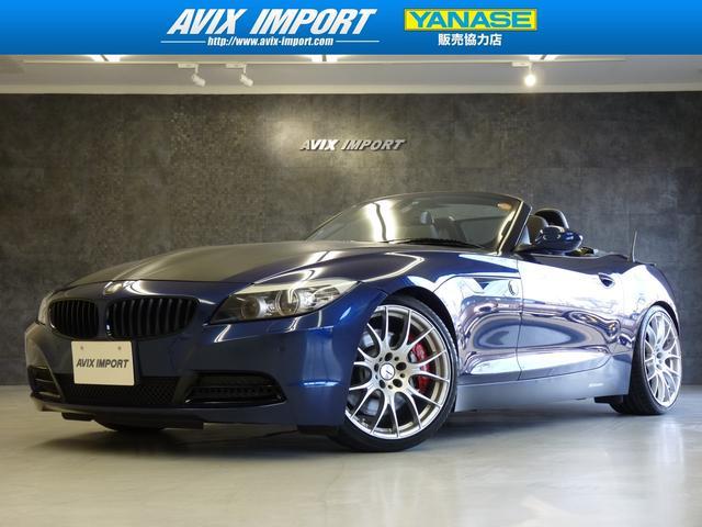 BMW 35i レイズ19AW KW車高調 黒革 HDDナビ TV