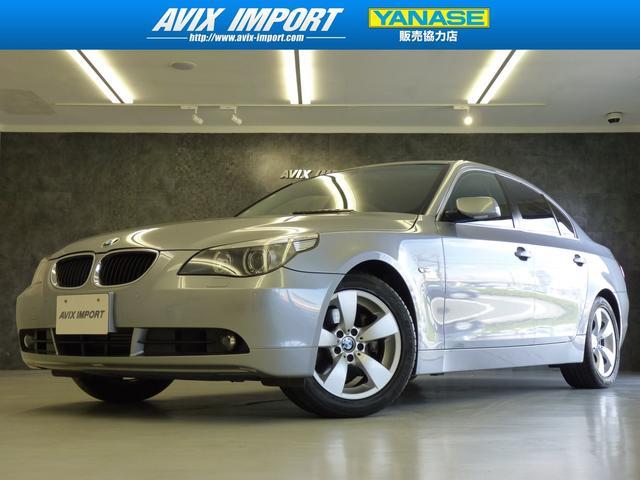 BMW 525iハイラインパッケージ 正規D車 黒本革 HDDナビ