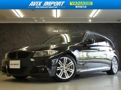 BMW335i TRG MスポーツPKG 後期 SR黒革 ナビTV