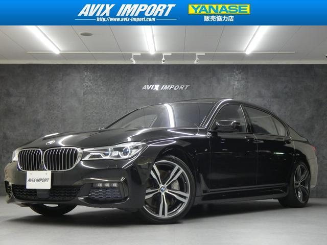 BMW 750Li Mスポーツ 黒革 SR 純正リアエンタ 20AW