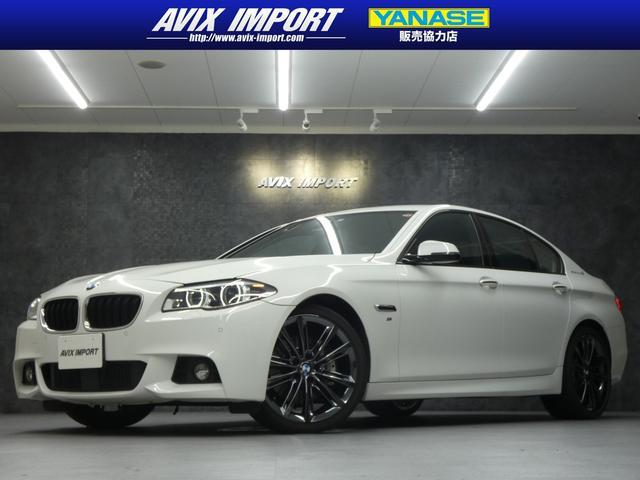 BMW 5シリーズ アクティブHV5 Mスポーツ 衝突回避 黒革 Bカメ ACC