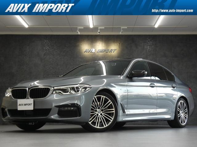 BMW 523i Mスポーツ 1オーナー 禁煙 SR harman/Kardon コンフォートアクセス オートトランク LEDヘッドライト PDC 360カメラ パワーシート スポーツシート MエアロPKG&19AW