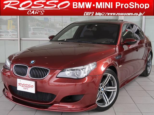 BMW M5 左ハンドル レザー M6アルミ プッシュスタート