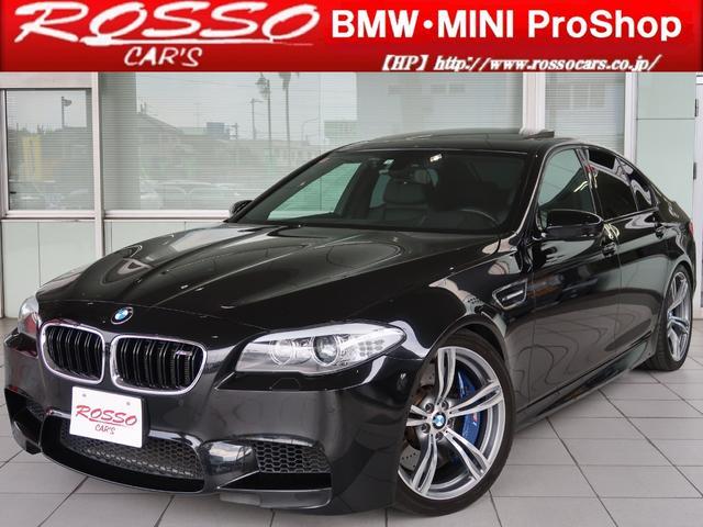 BMW M5 左ハンドル ローダウン サンルーフ シートAC TV