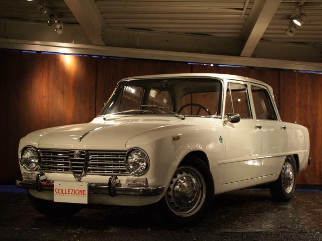 アルファロメオ 1300ti イタリア本国レストア車輛