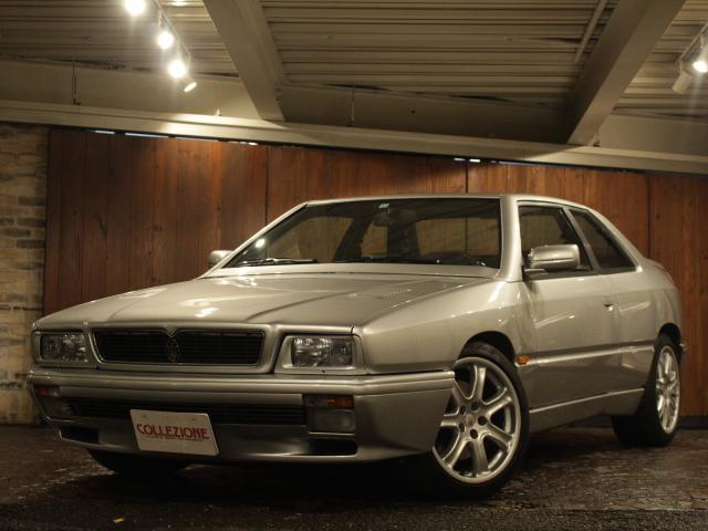 マセラティ ベースグレード ディーラー車 左ハンドル 4速AT車 ブラックレザーシート 後期型17AW ステンレスマフラー