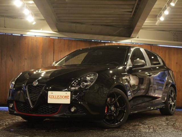 アルファロメオ ジュリエッタ ヴェローチェ ディーラー車 左ハンドル 6速AT車 レッドレザーシート 純正18AW キセノン 2DINナビ バックカメラ
