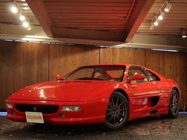 フェラーリ 355F1 ベルリネッタ フィオラノハンドリングパッケージ ディーラー車 左ハンドル ベージュレザーシート オプション18AW