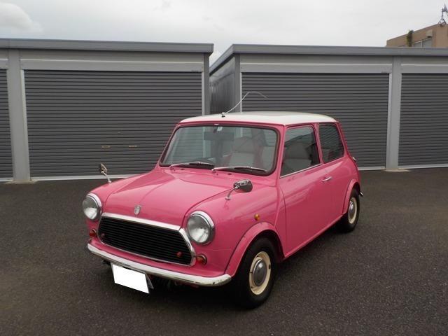 ローバー クーパー ピンクの内装張り替え済み 外装塗装済み ETC