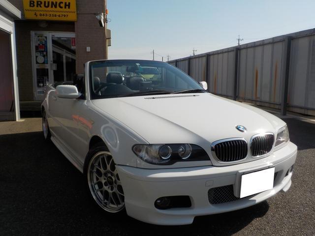 BMW 3シリーズ 330Ciカブリオーレ Mスポーツパッケージ オープン ナビ シートヒーター 電動シート 本革シート ローダウン BBS17AW ETC